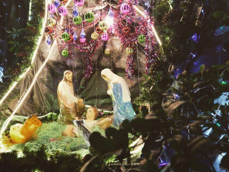 święta rodziny przy narodzinach syna Bożego